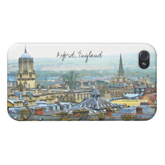 Oxford, England, Roof Top View Covers For iPhone 4