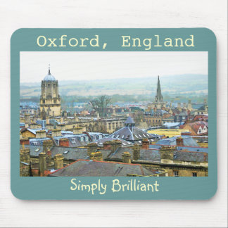 Oxford, England, Roof Tops, Simply Brilliant Mouse Mat