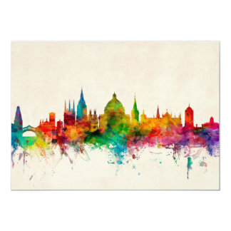 Oxford England Skyline Card
