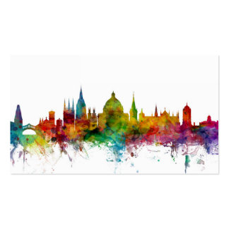 Oxford England Skyline Pack Of Standard Business Cards