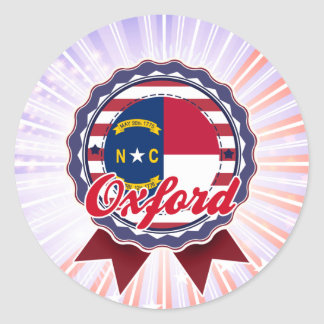 Oxford, NC Stickers