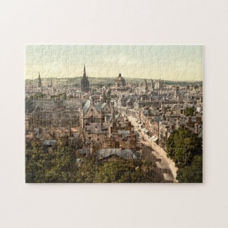 Oxford, Oxfordshire, England Jigsaw Puzzle