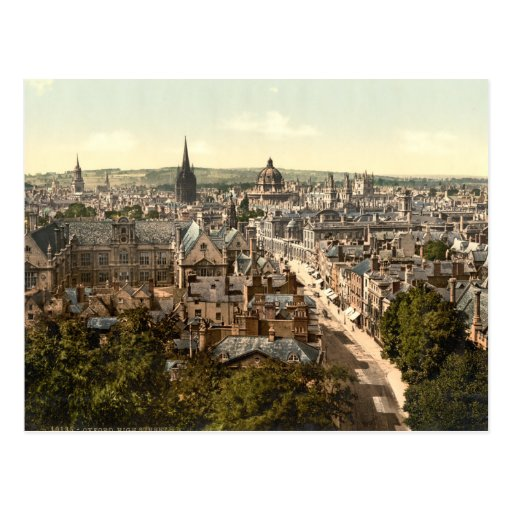 Oxford, Oxfordshire, England Post Cards