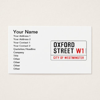 Business cards oxford uk images card design and card template oxford business cards business card printing zazzle uk oxford street business card reheart images reheart