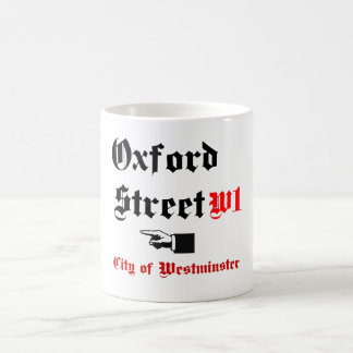Oxford Street, Coffee Mug
