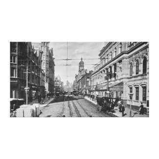 Oxford Street, Manchester, c.1910 Canvas Print