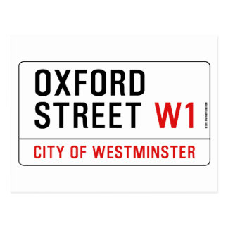 Oxford Street Postcard