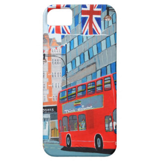 Oxford Street- Queen s Diamond Jubilee iPhone 5 Cover