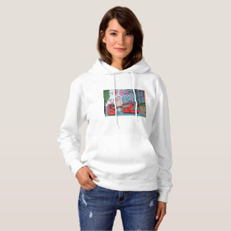 Oxford Street  Women's Basic Hooded Sweatshirt