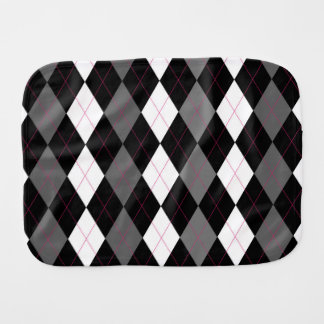 Oxford Tales A Deux Argyle Burper Burp Cloth