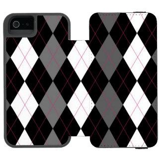 Oxford Tales A Deux Argyle Wallet Case Incipio Watson™ iPhone 5 Wallet Case