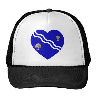 Oxfordshire Flag Heart Cap