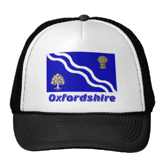 Oxfordshire Flag with Name Hats