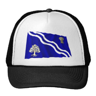 Oxfordshire Waving Flag Trucker Hats