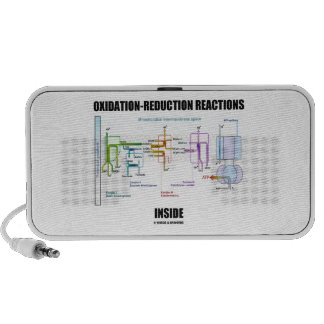 Oxidation-Reduction Reactions Inside Travelling Speaker