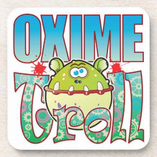 Oxime Troll Beverage Coaster