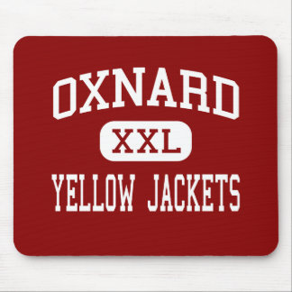 Oxnard - Yellow Jackets - High - Oxnard California Mouse Pads