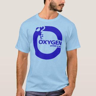 Oxygen Blue Logo T-Shirt
