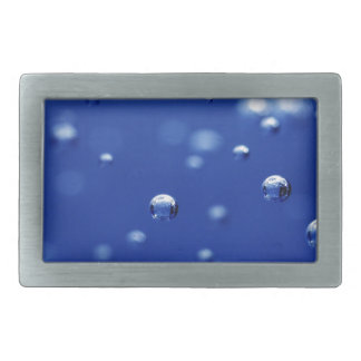 Oxygen Bubbles in Water Belt Buckle