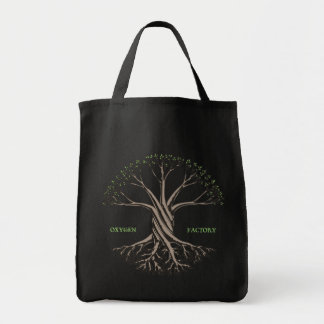 Oxygen Factory Grocery Tote Bag