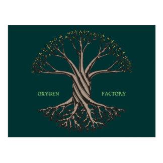 Oxygen Factory Postcard