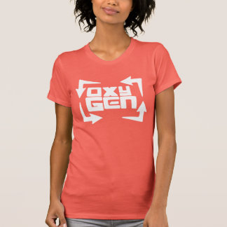 "oxyGEN Womens ""Quote"" Tee - Coral Edition"