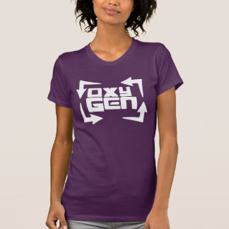 "oxyGEN Womens ""Quote"" Tee - Eggplant Edition"