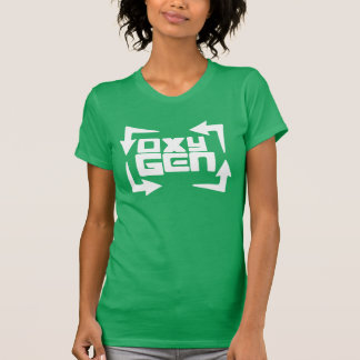 "oxyGEN Womens ""Quote"" Tee - Kelly Green Edition"