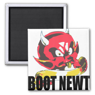 Oxygentees Boot Newt Refrigerator Magnets