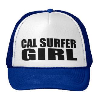 Oxygentees  Cal Surfer Girl Cap