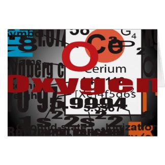 Oxygentees Cerium Greeting Card