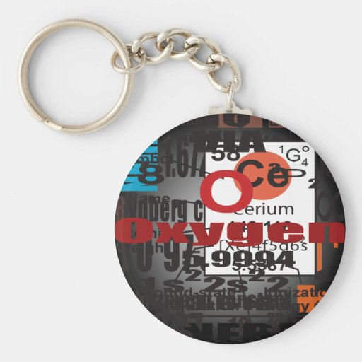 Oxygentees CERIUM Keychain
