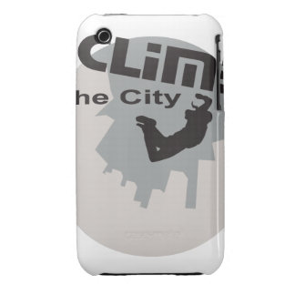 Oxygentees Climb The City iPhone 3 Covers
