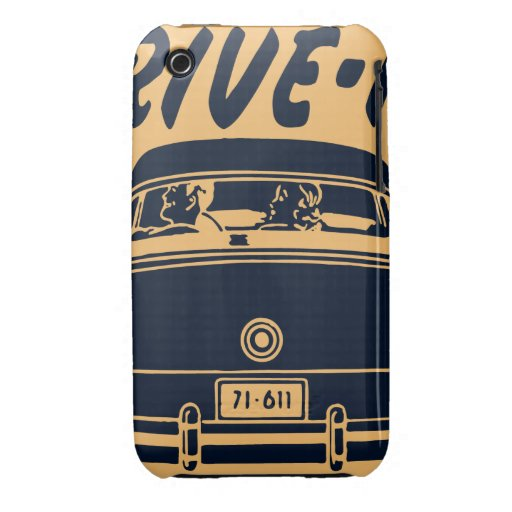Oxygentees Drive In Case-Mate iPhone 3 Cases