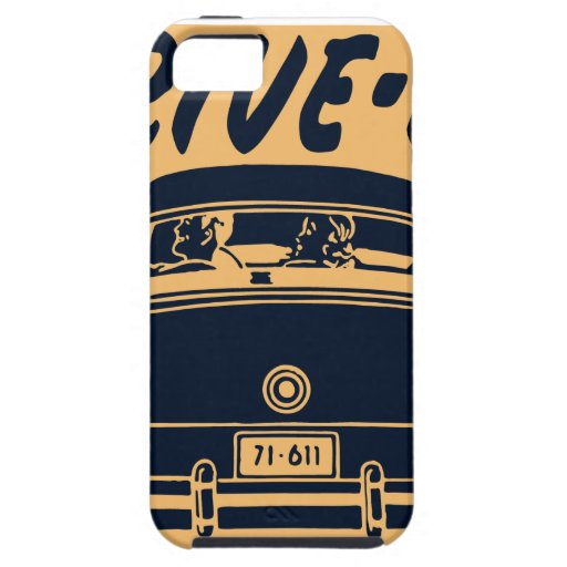 Oxygentees Drive In iPhone 5 Cover