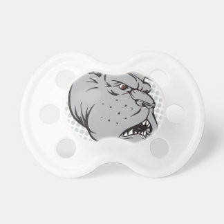 Oxygentees Extreme Bulldog Baby Pacifier