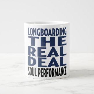 Oxygentees Longboard The Real Deal Jumbo Mugs