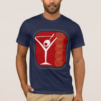 Oxygentees Martini T-Shirt