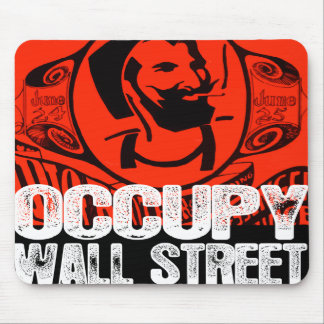 Oxygentees Occupy Wall Street Mouse Pad