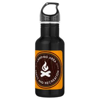 Oxygentees Parks & Recreation 532 Ml Water Bottle