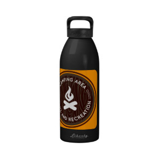 Oxygentees Parks Recreation Drinking Bottle