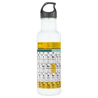 Oxygentees Periodic Table Liberty 710 Ml Water Bottle