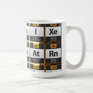 Oxygentees Periodic Table Coffee Mugs