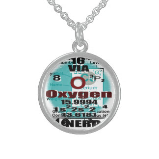 Oxygentees Periodic Table Personalized Necklace