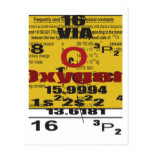 Oxygentees Periodic Table Postcards