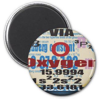 Oxygentees Romberg Constant 6 Cm Round Magnet