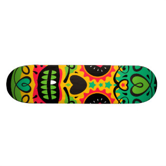 Oxygentees Skull Candy Skate Board Decks
