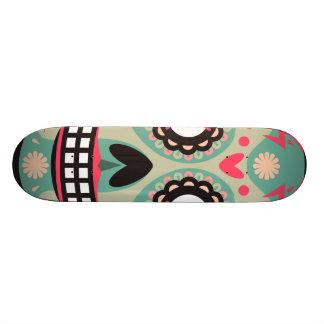 Oxygentees Skull Candy 20.6 Cm Skateboard Deck