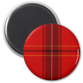 Oxygentees Tartan Red Plaid Magnet