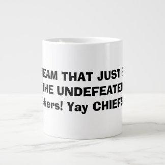 Oxygentees Yay CHIEFS!!!!! Jumbo Mug